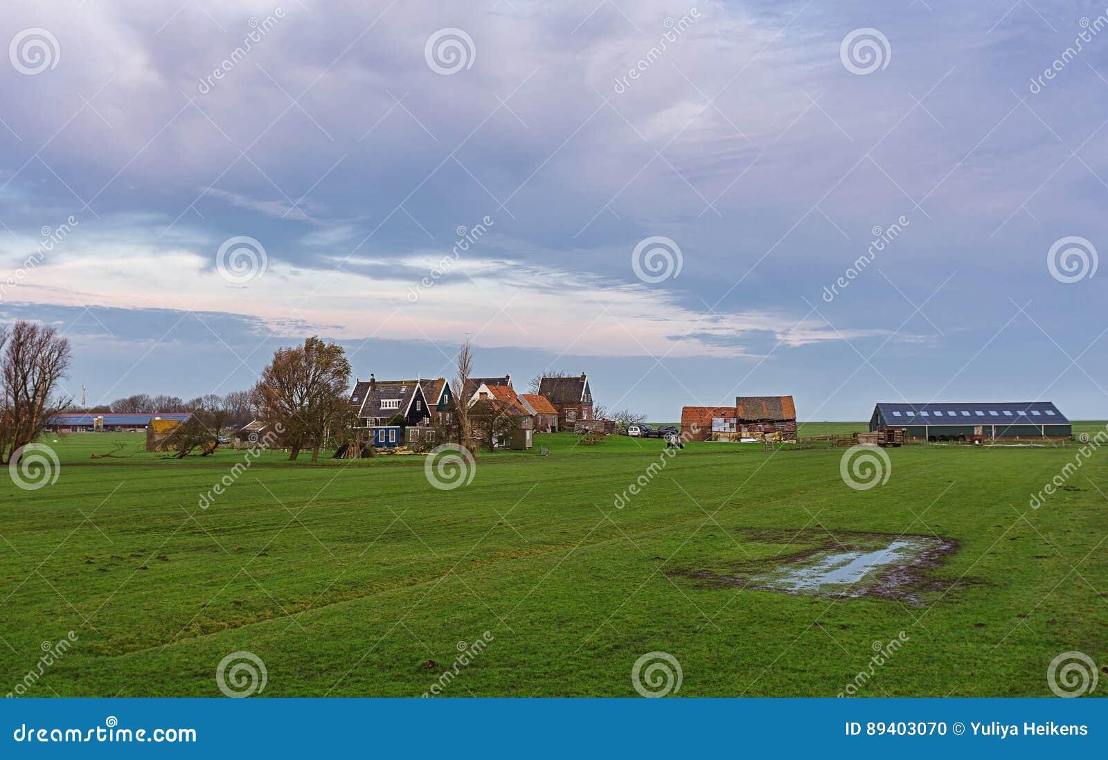 Panorama da ilha de Marken