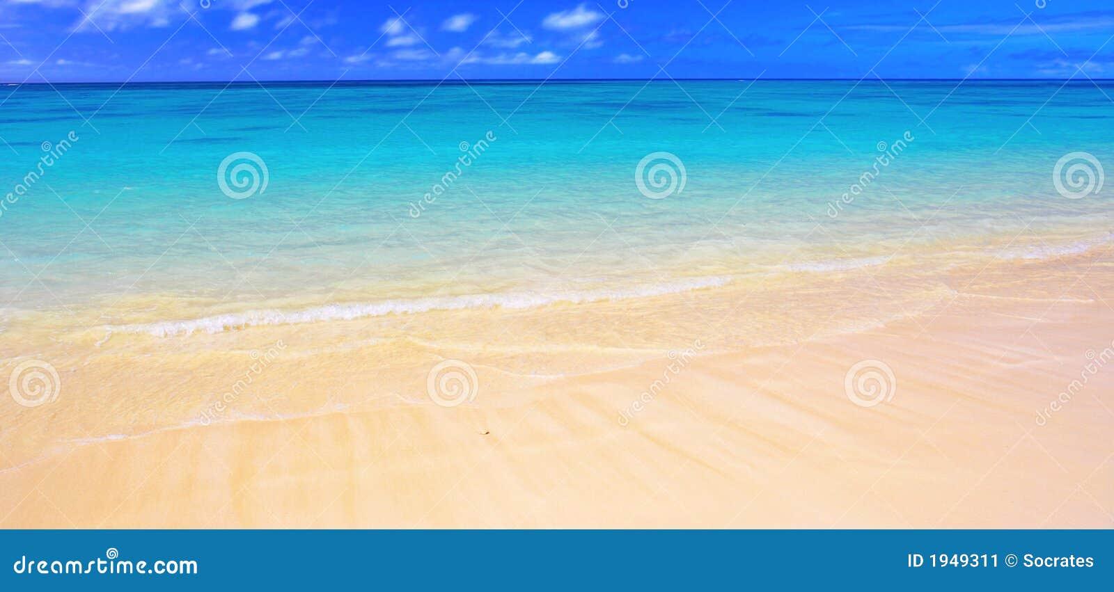Panorama da praia (