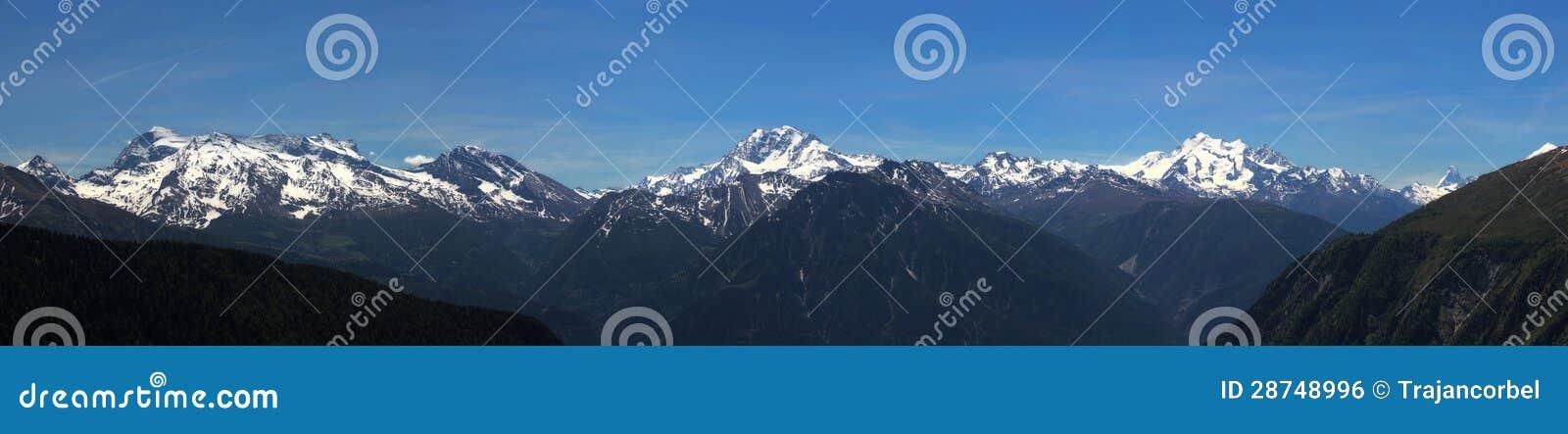 Panorama de Aletsch (Suiza)