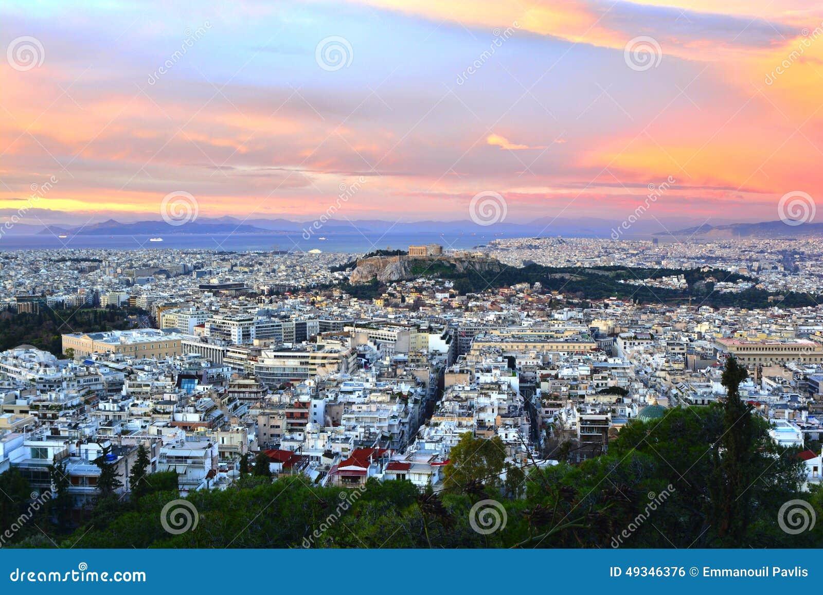 Panorama de Atenas