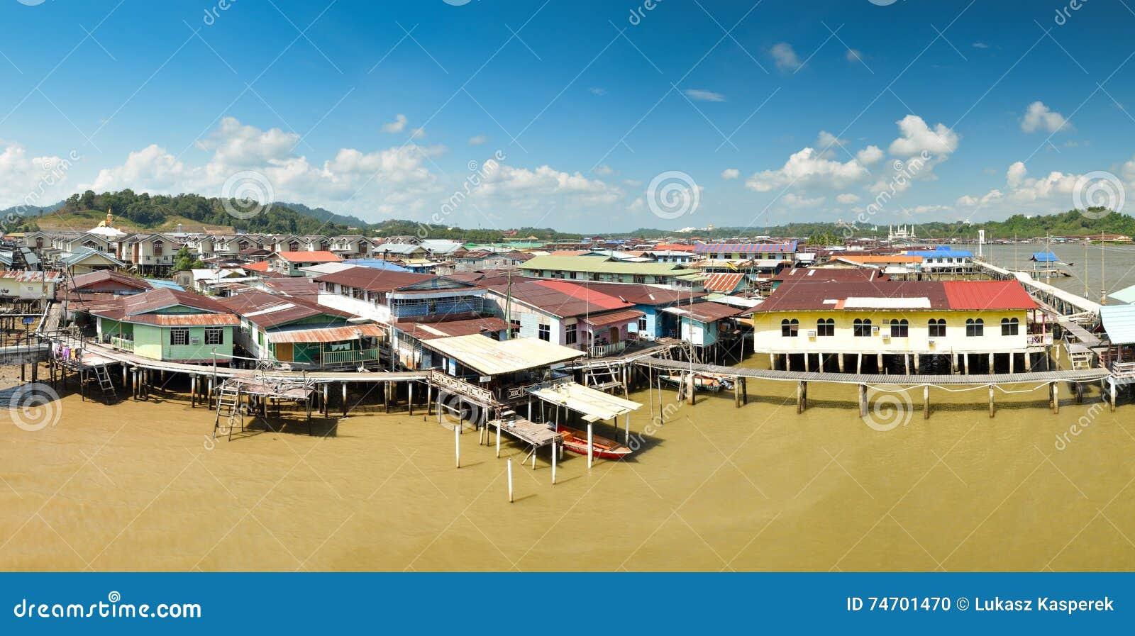 Panorama de Ayer do Kampong, Brunei Darussalam
