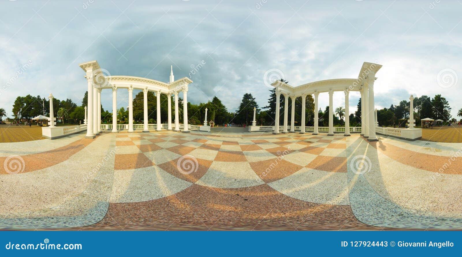 Panorama de Batume la Géorgie 360 Vr