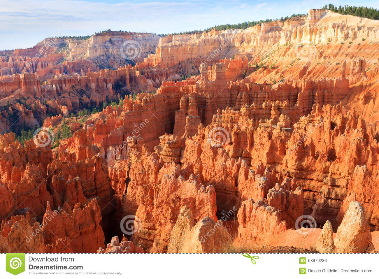 Panorama de Bryce Canyon National Park, los E.E.U.U.