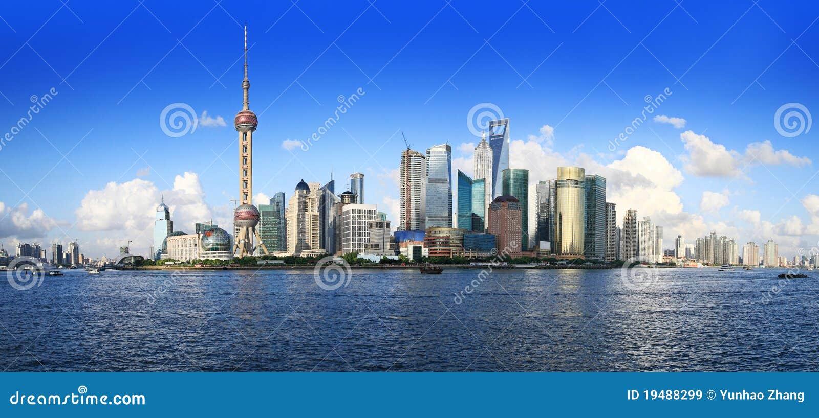 Panorama de China Shangai