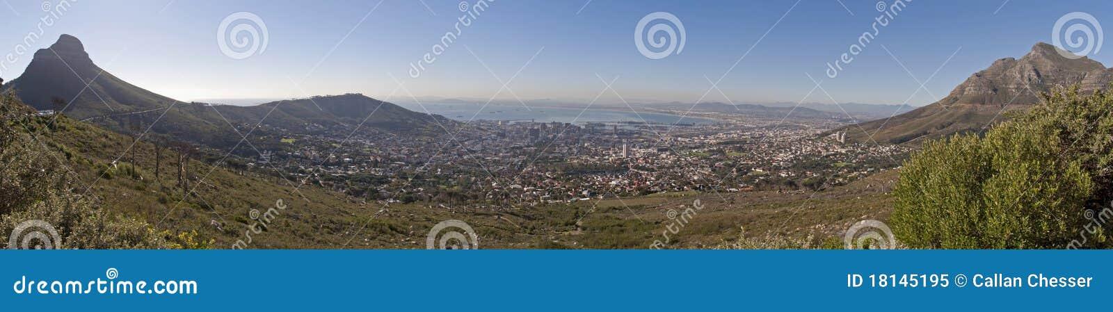 Panorama de Ciudad del Cabo