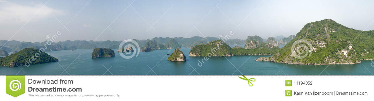 Panorama de compartiment de Halong