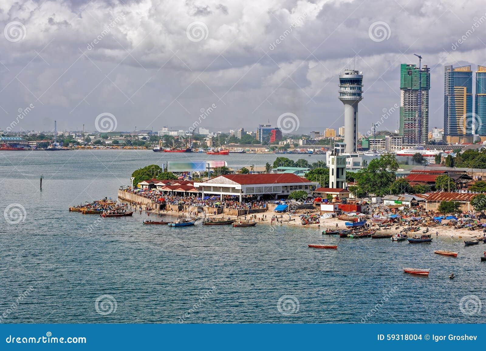 Panorama de Dar Es Salaam