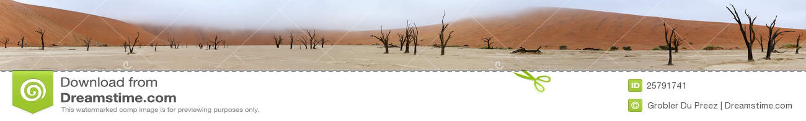 Panorama de Deadvlei