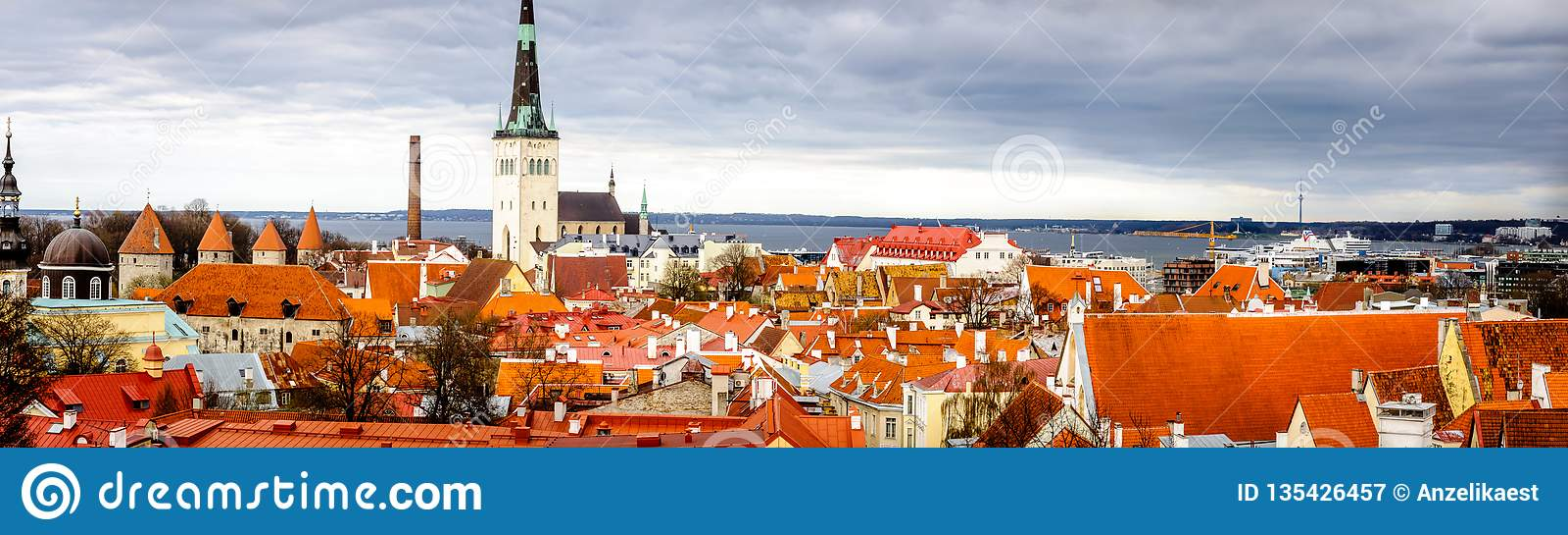 Panorama de Estonia, Tallinn