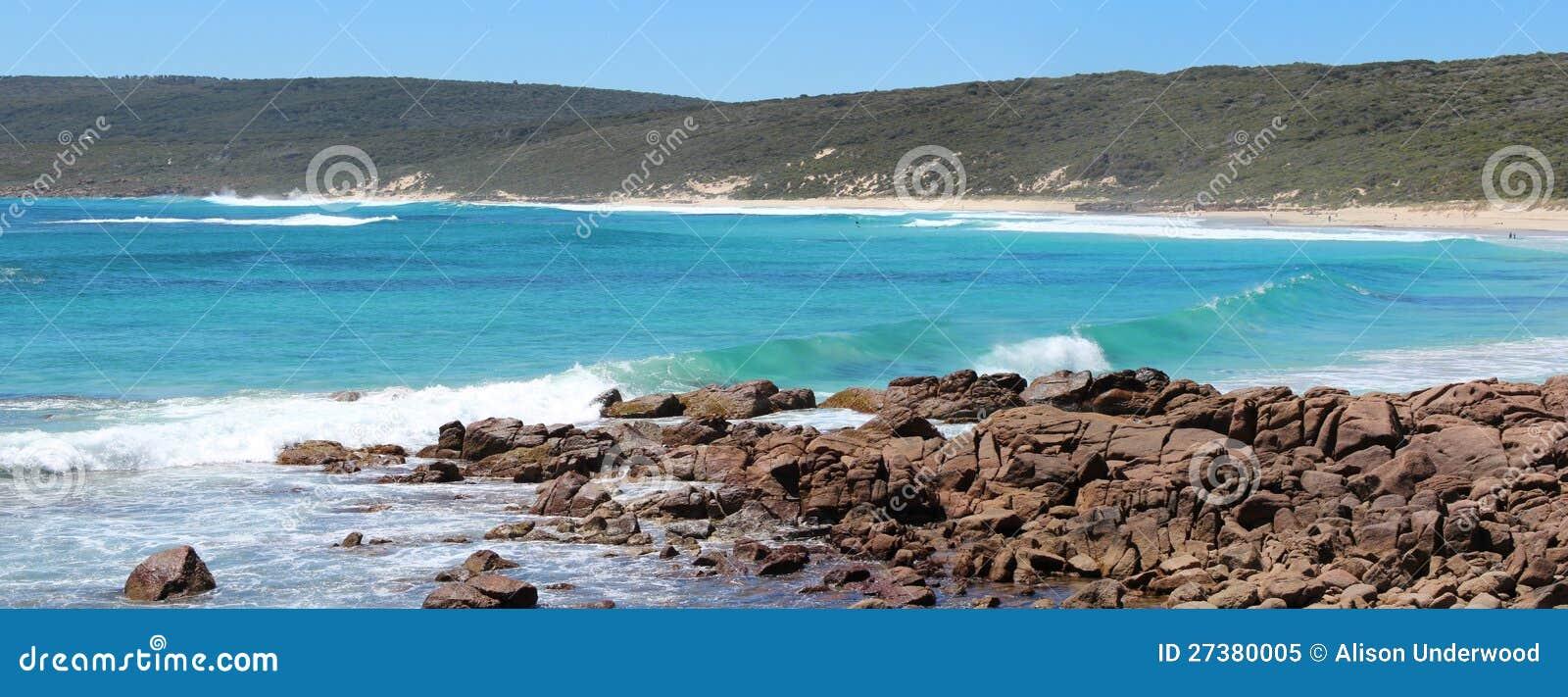 Panorama de l Australie occidentale du sud de la plage de Smith