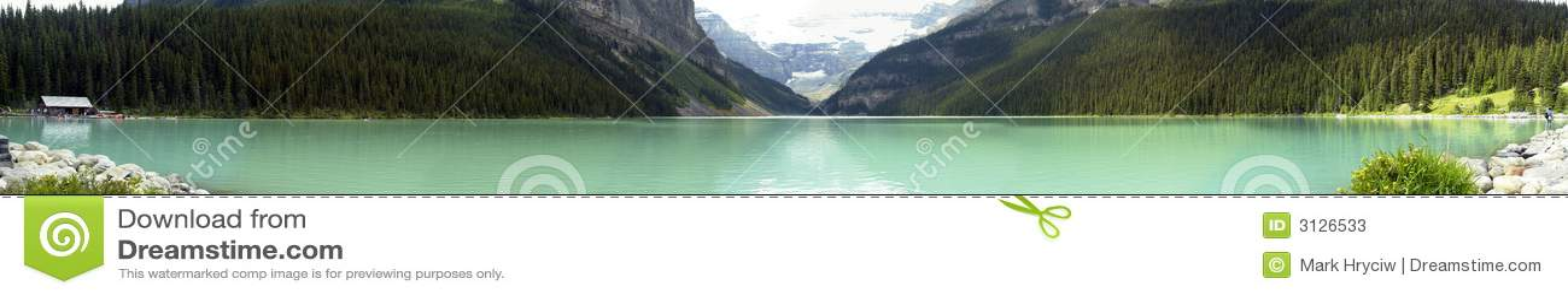 Panorama de Lake Louise