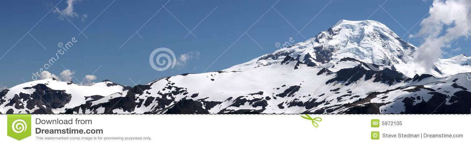 Panorama de montagne