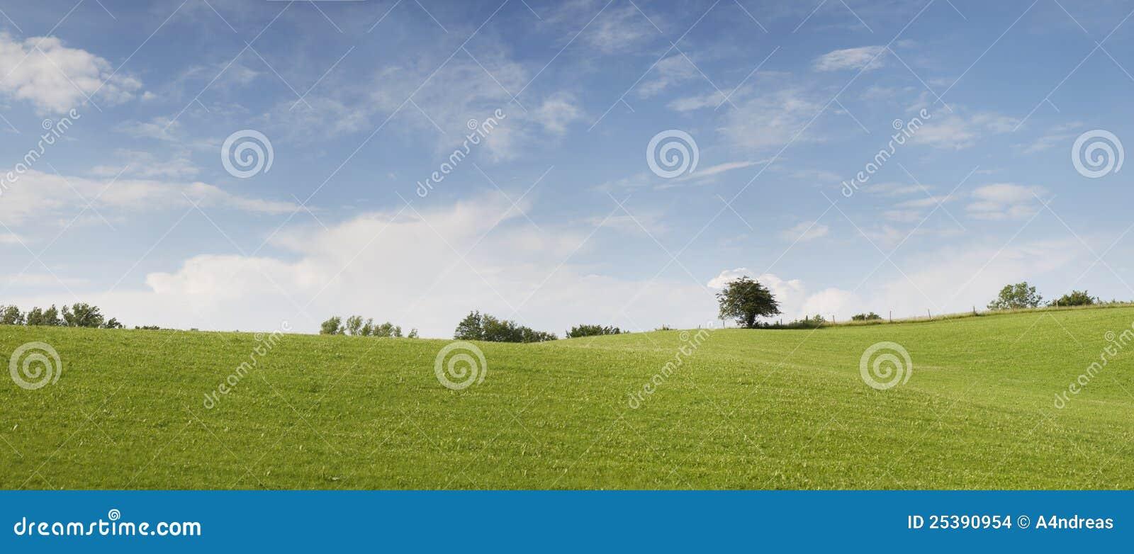 Panorama de nature avec le ciel nuageux bleu clair images stock image 2539 - Image ciel bleu clair ...