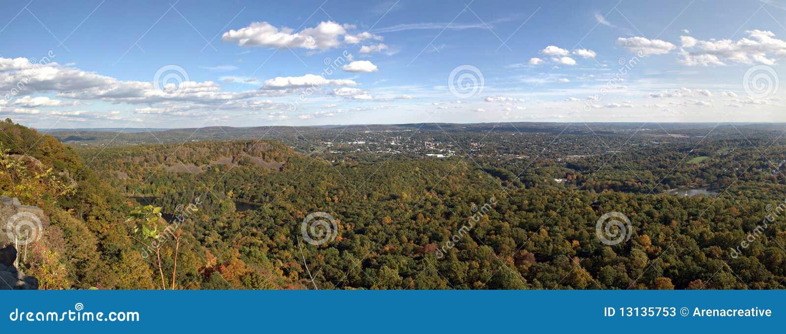 Panorama de Nova Inglaterra