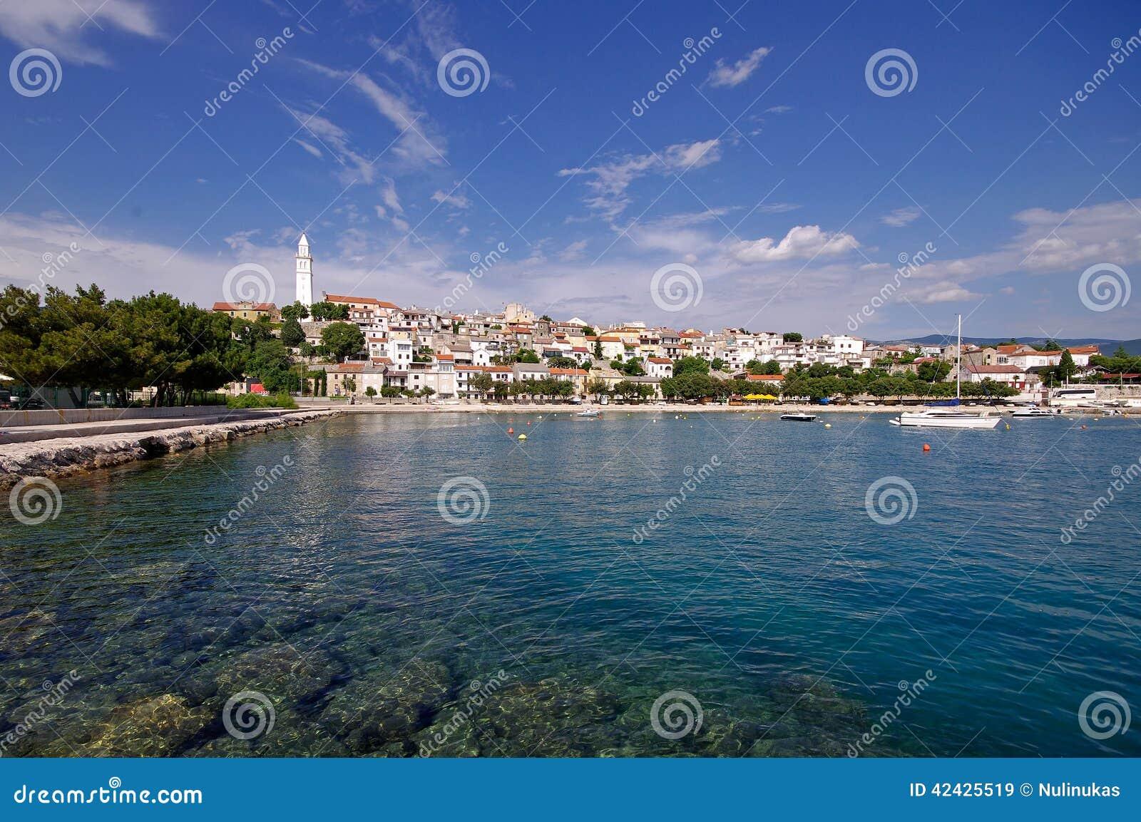 Panorama de Novi Vindolski en Croacia