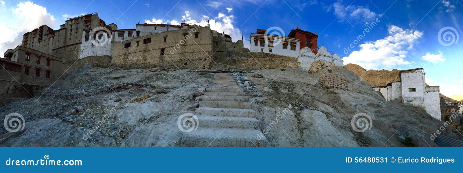 Panorama de palais de Leh
