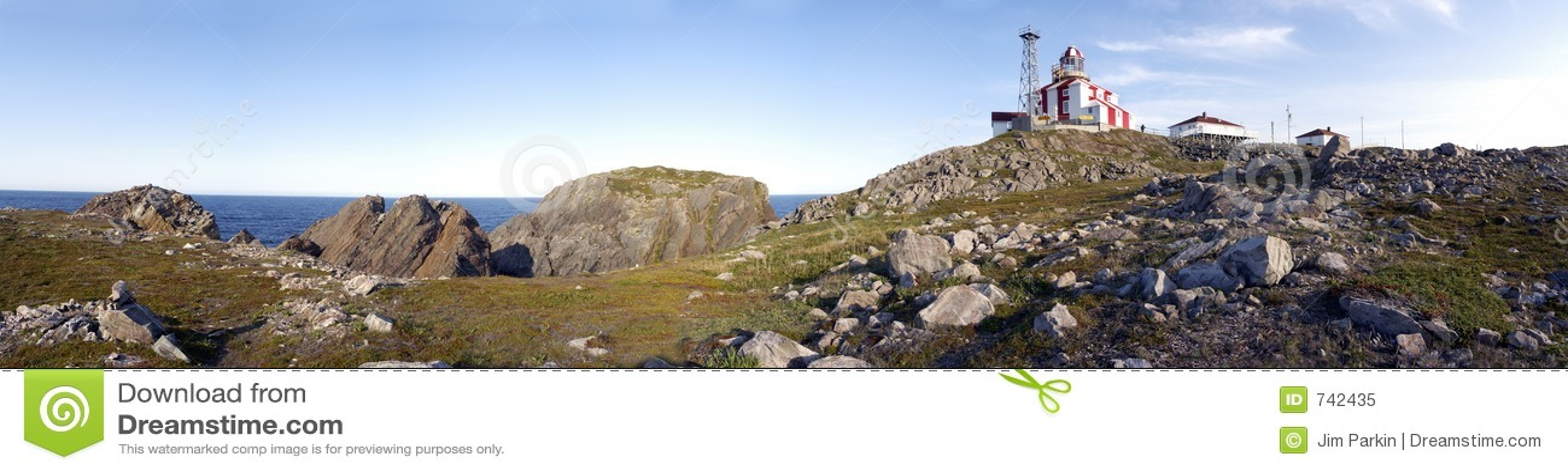 Panorama de phare de Bonavista de cap