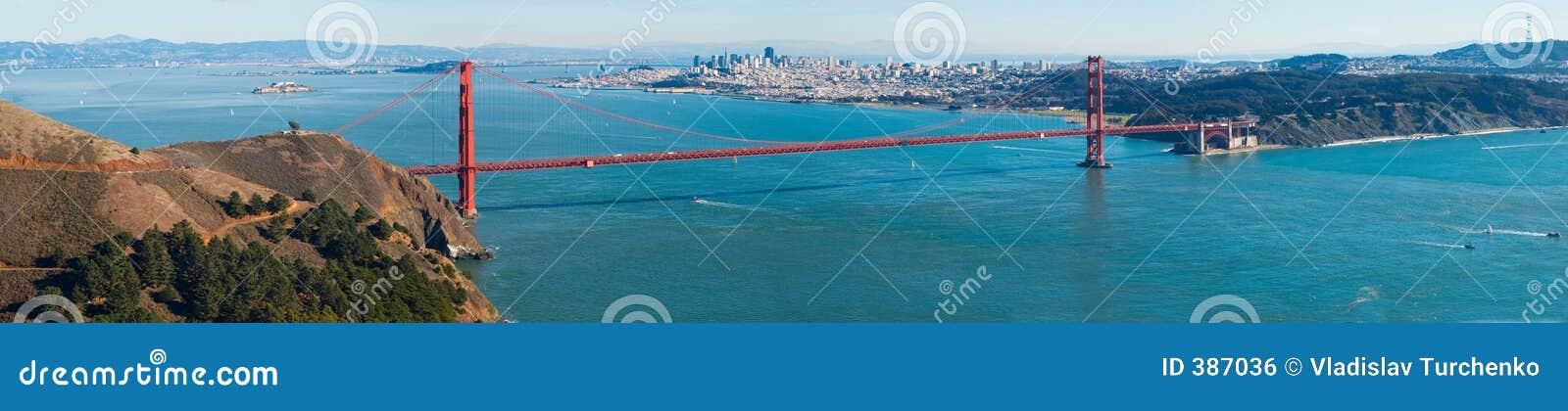 Panorama de pont en porte d or