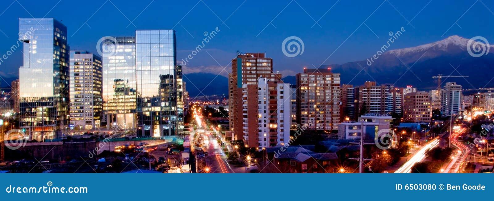 Panorama de Santiago