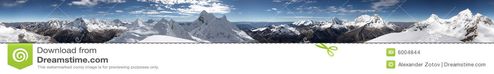 Panorama de sommet