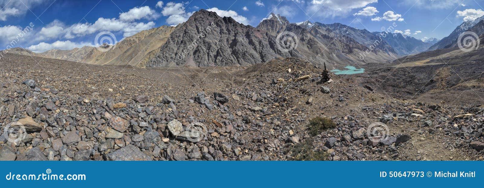 Panorama de Tayikistán