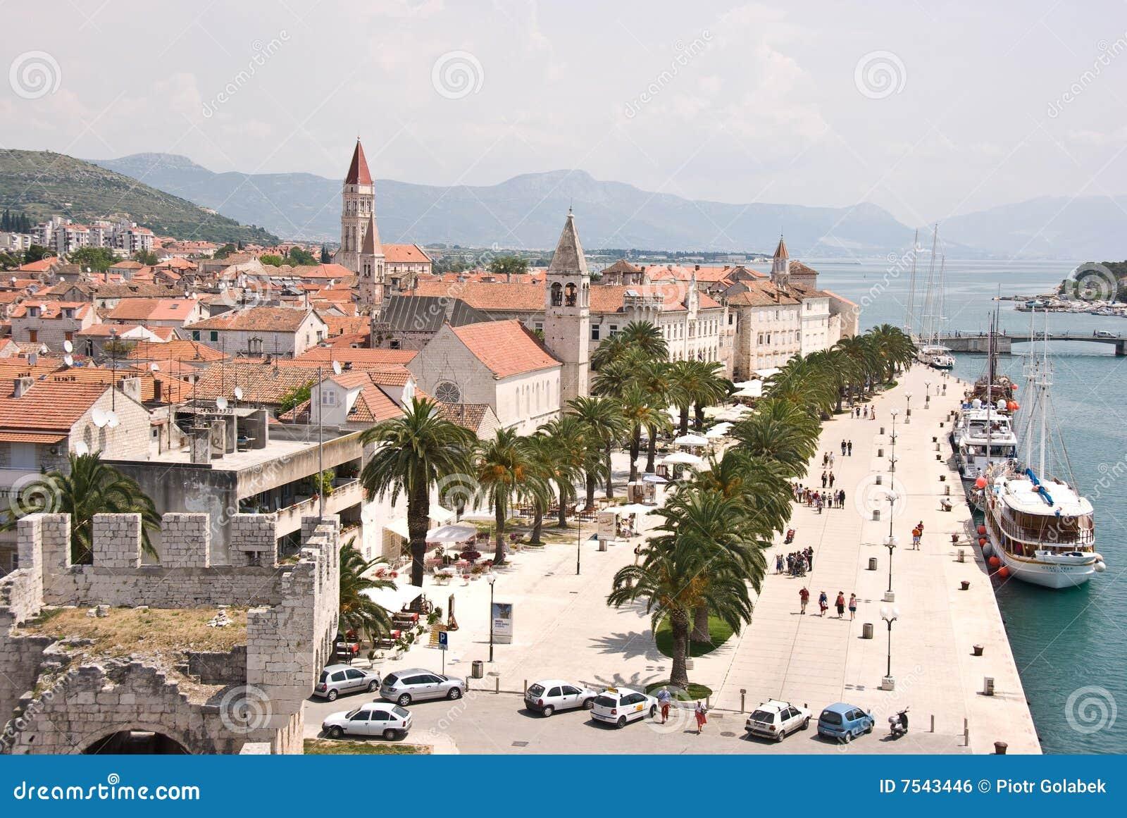 Panorama de Trogir