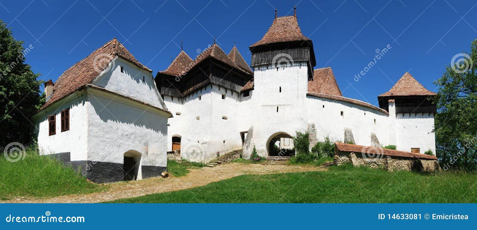 Panorama de Viscri, Transilvania, Rumania