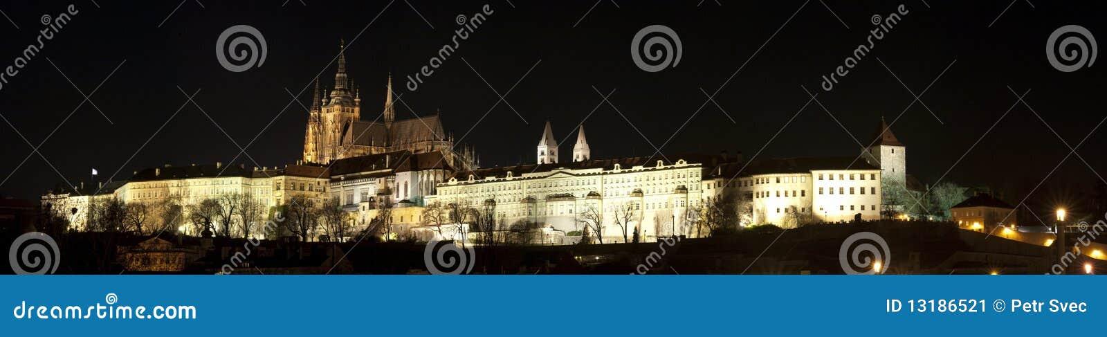 Panorama del castillo de Praga