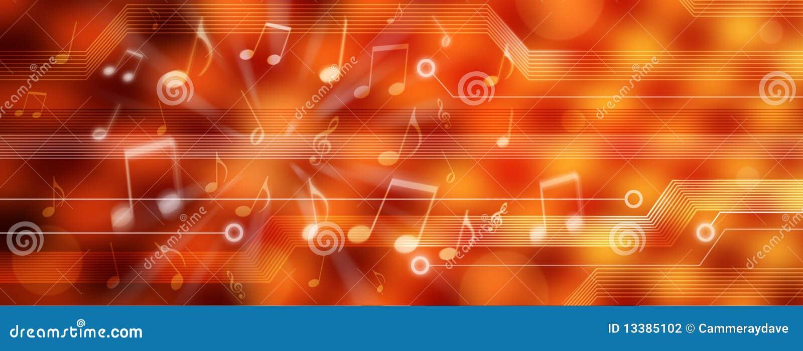 Panorama del fondo de la música de Digitaces