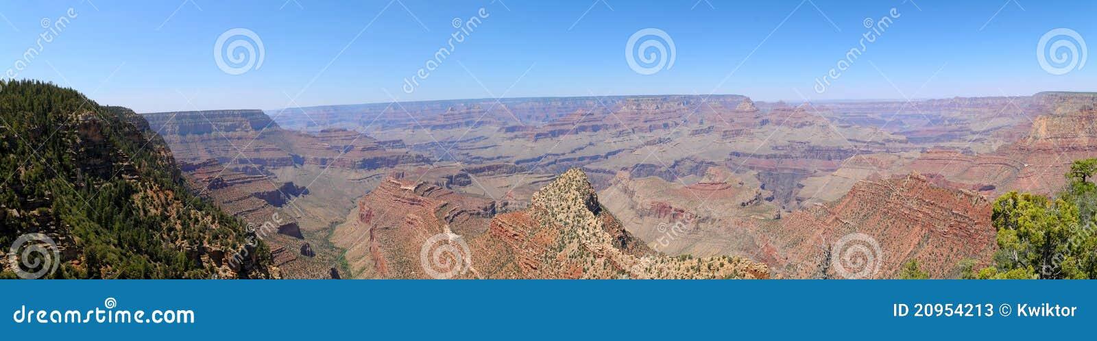 Panorama del grande canyon