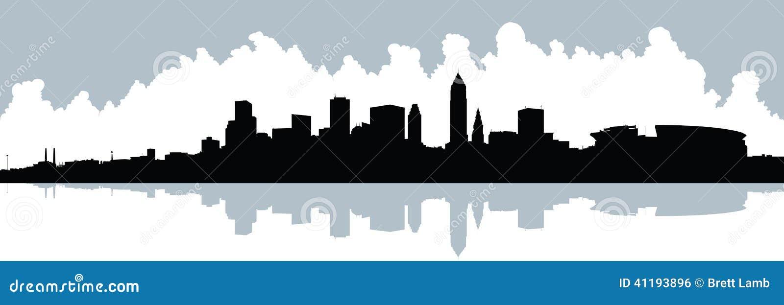 Panorama del horizonte de XXL Cleveland
