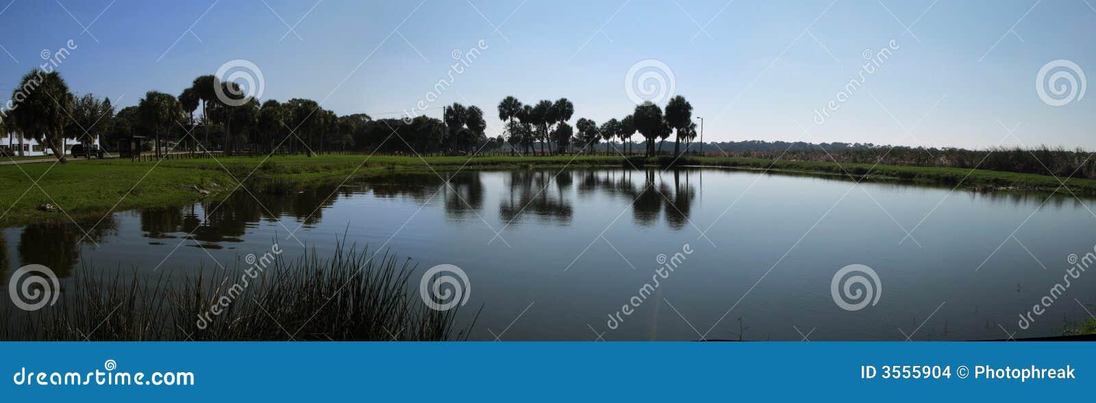 Panorama del lago florida