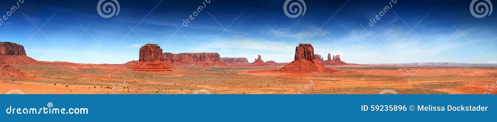 Download Panorama Del Sudoeste Del Valle Del Monumento Foto de archivo - Imagen de utah, monumento: 59235896