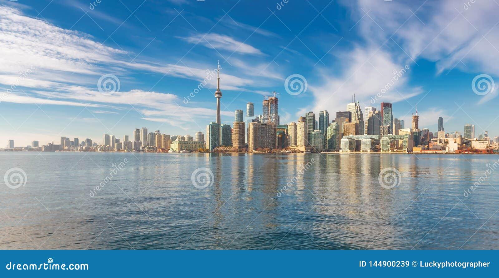Panorama della città di Toronto a Toronto, Ontario, Canada