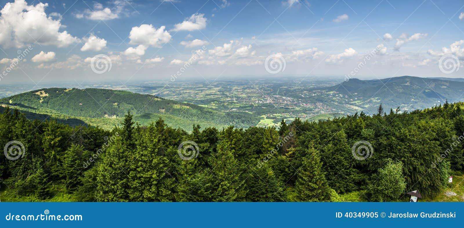 Panorama della montagna