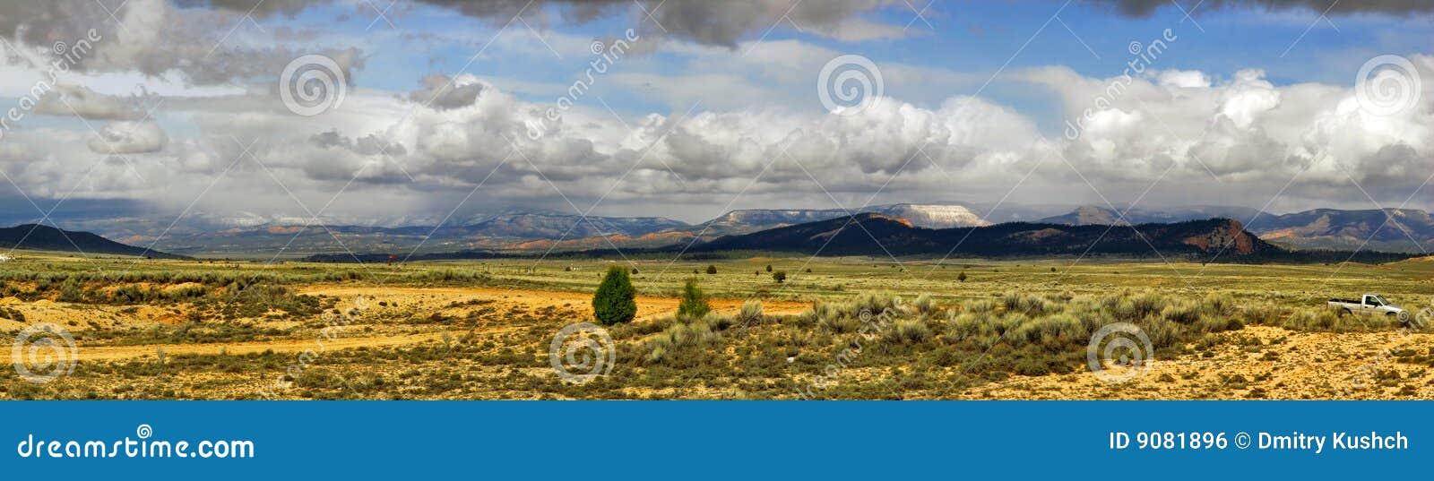 Panorama des Utah-Zustandes