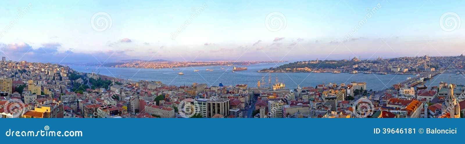Panorama di Costantinopoli