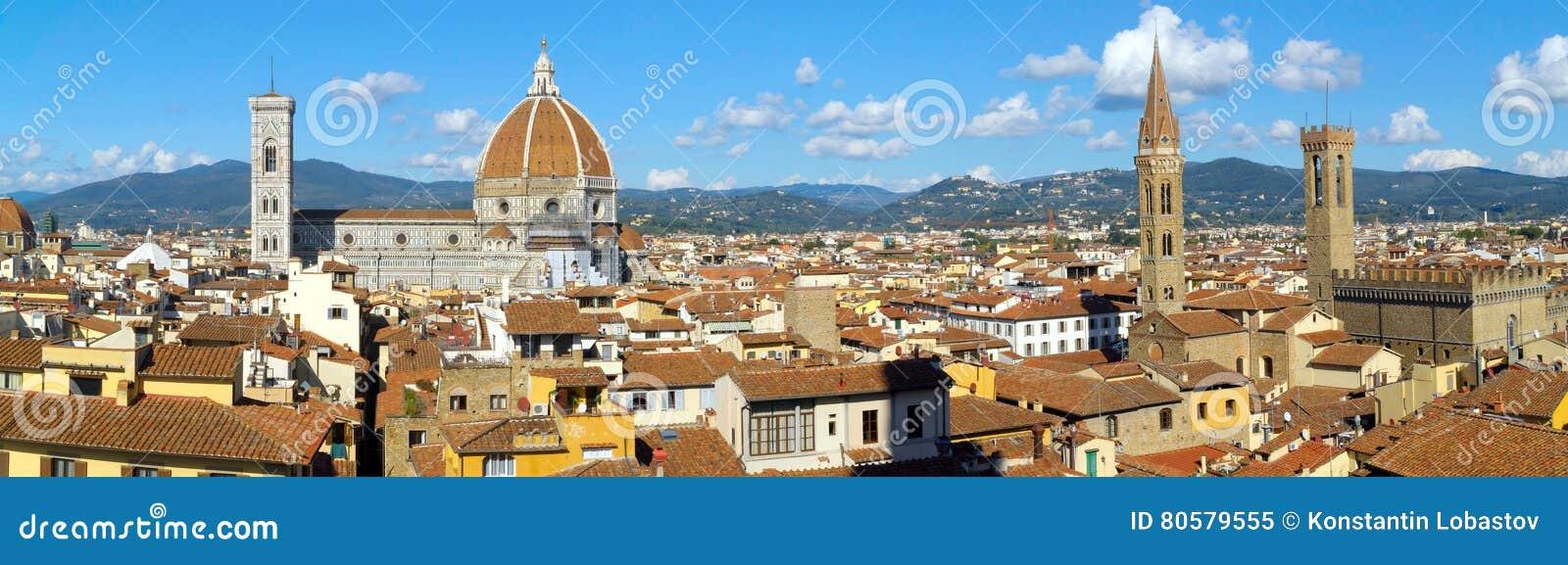 Panorama di Firenze, Italia