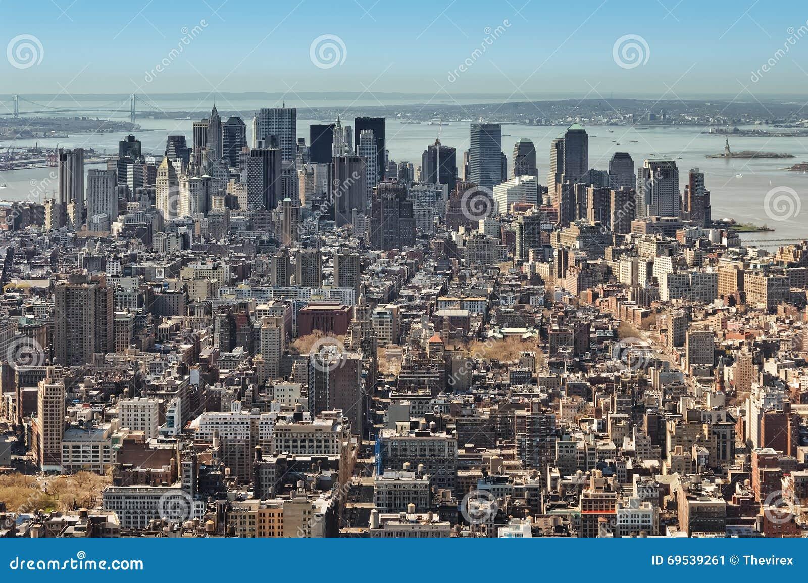Panorama di New York City