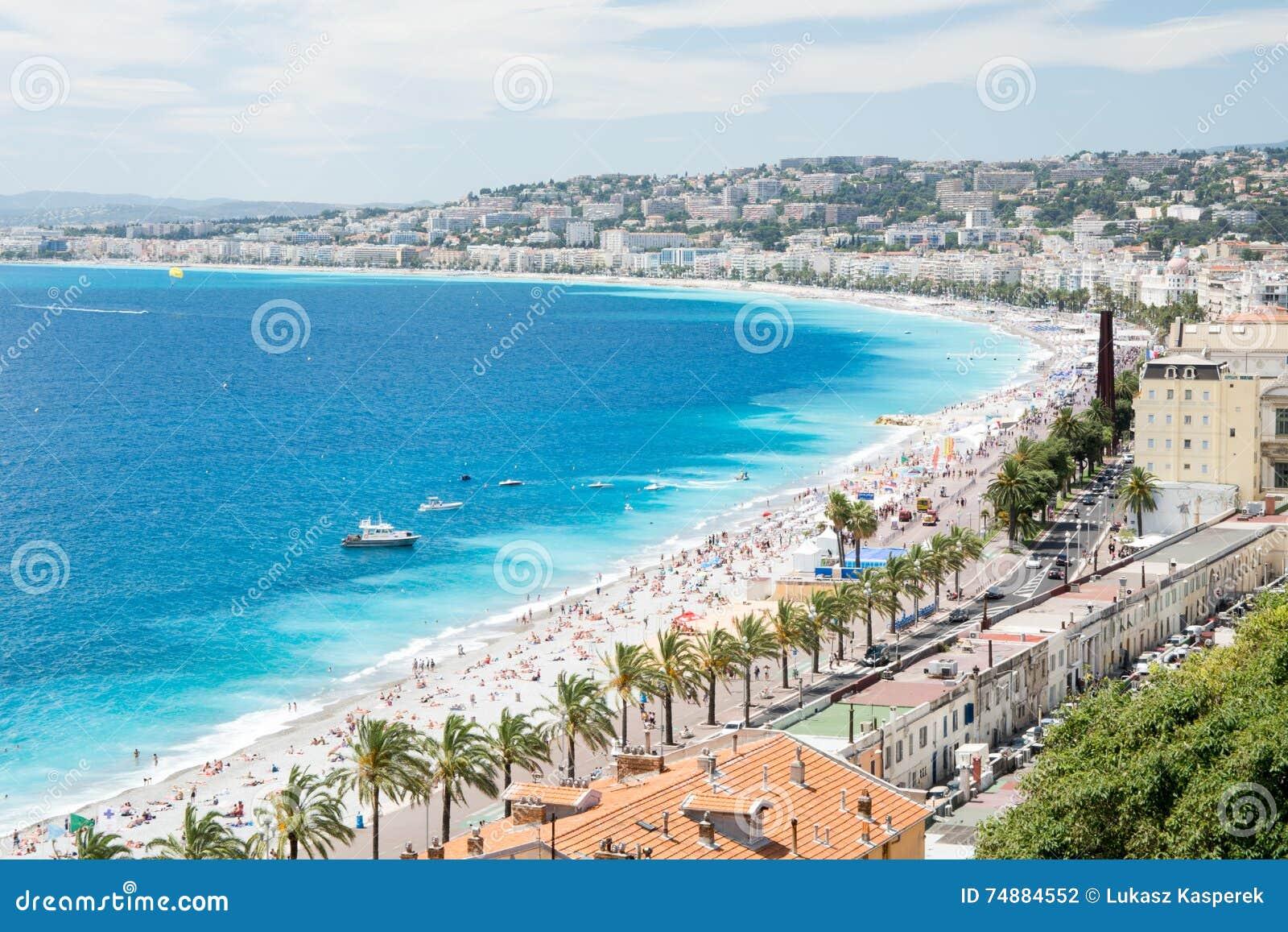 Panorama di Nizza, Francia
