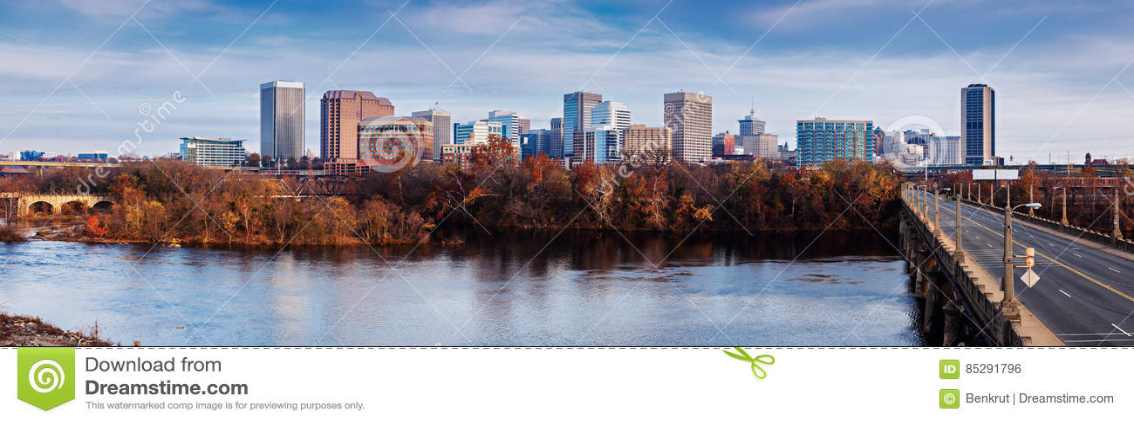 Panorama di Richmond