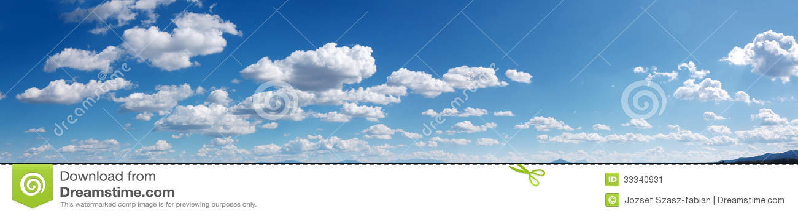 Panorama do céu