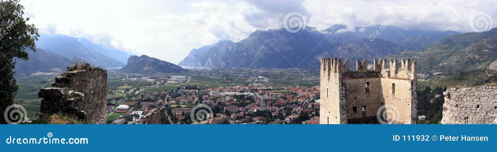 Panorama do castelo