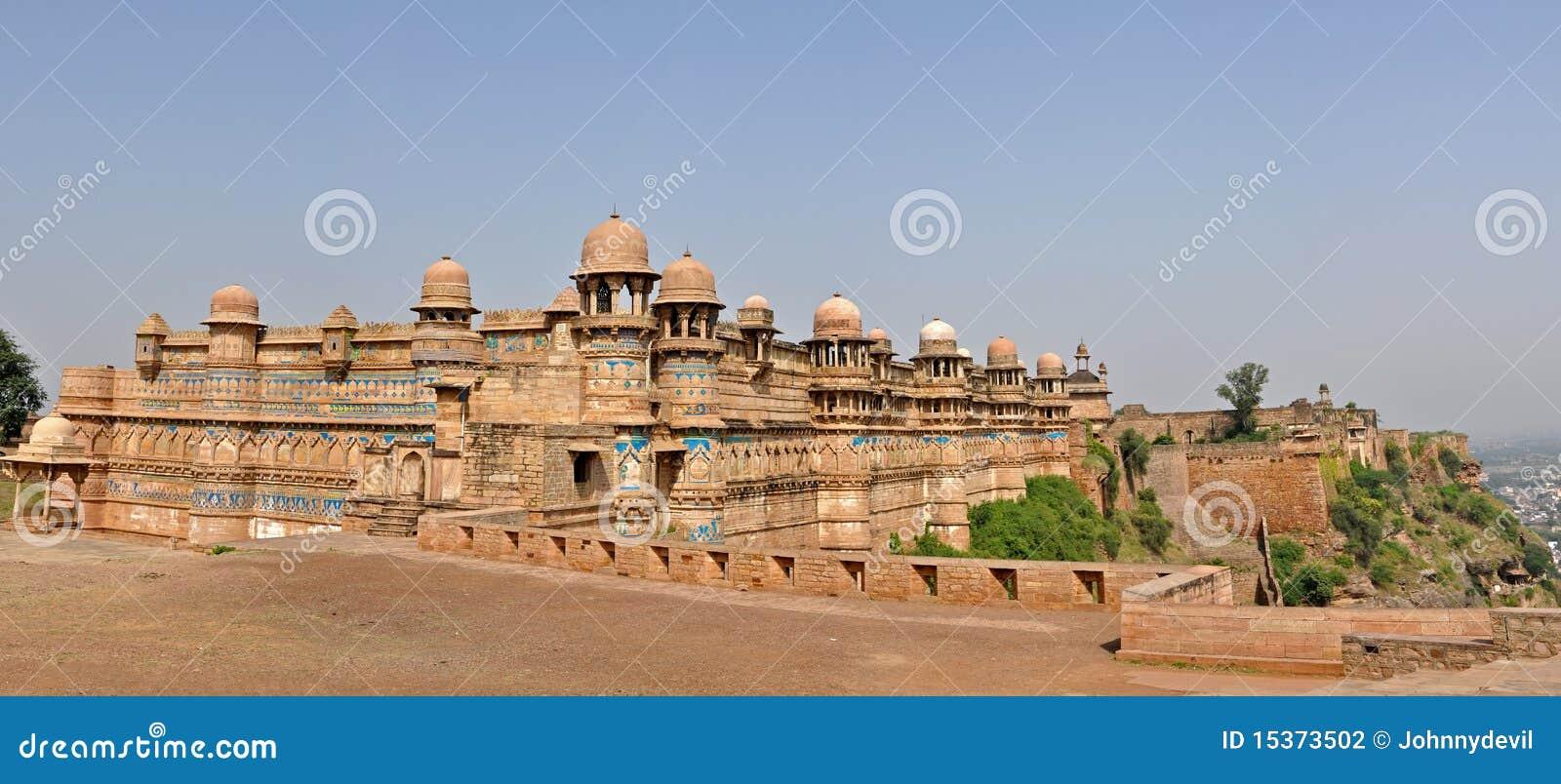 Panorama do forte de Gwalior