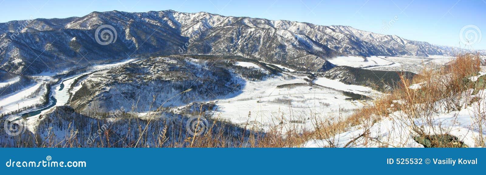 Panorama do inverno