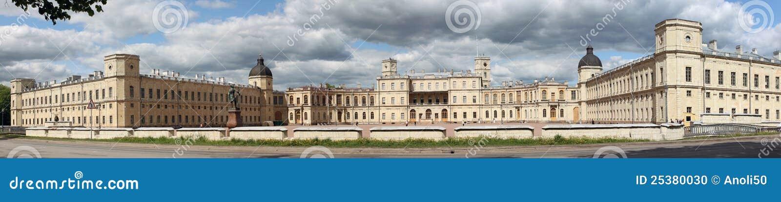 Panorama do palácio