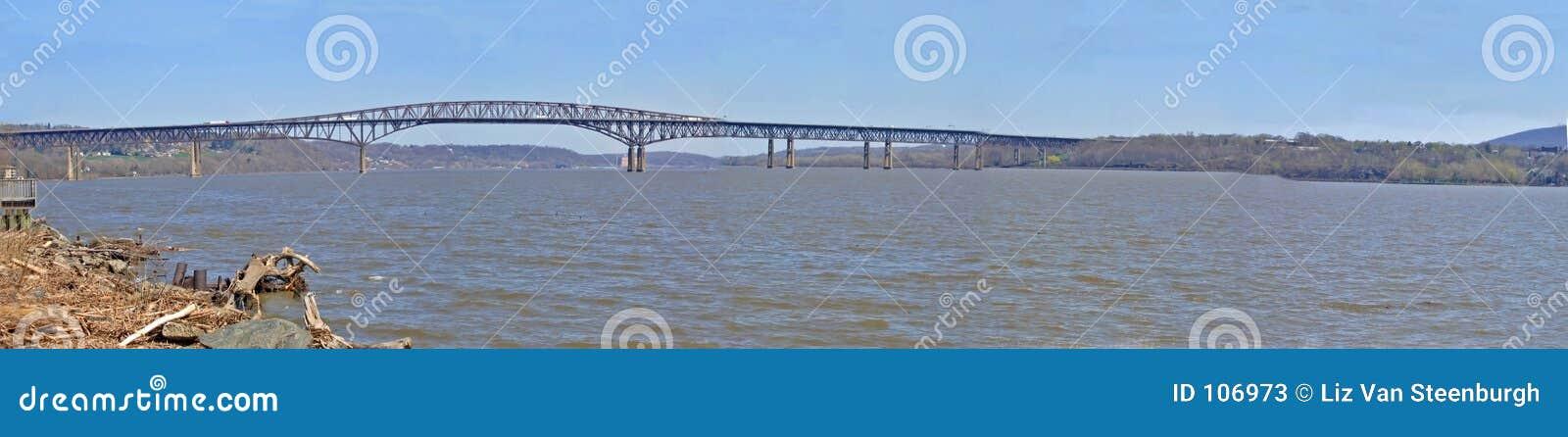 Panorama do rio de Hudson