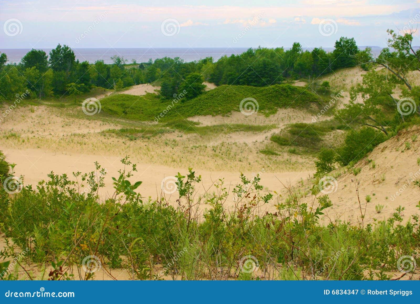 Panorama dos Sandbanks