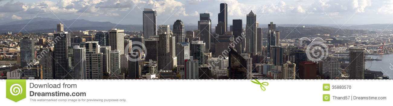 Panorama of Downtown Seattle
