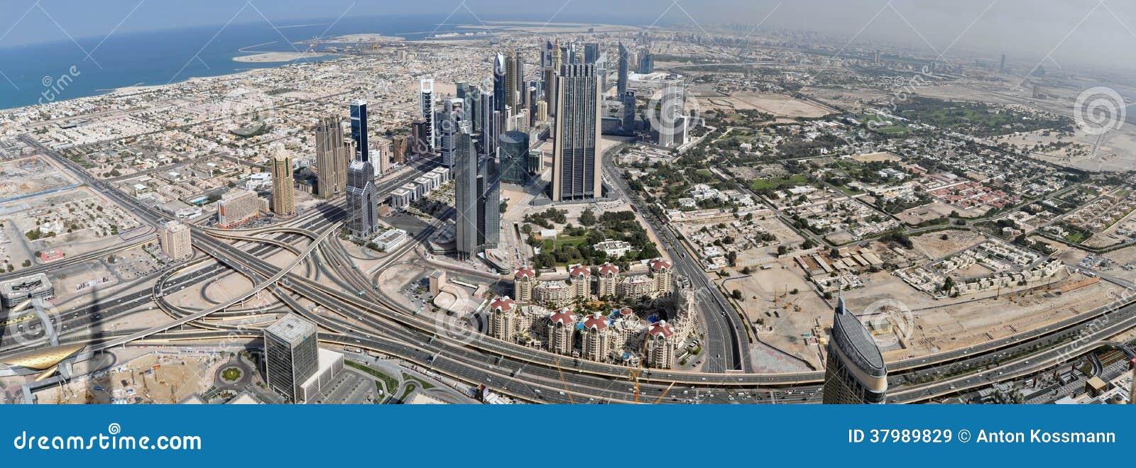 Panorama Dubaj
